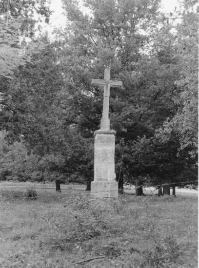 Saint-Martin-du-Bois, une croix de mission