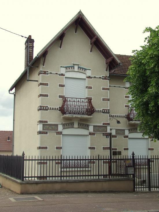 Migennes, la maison du docteur Collette,