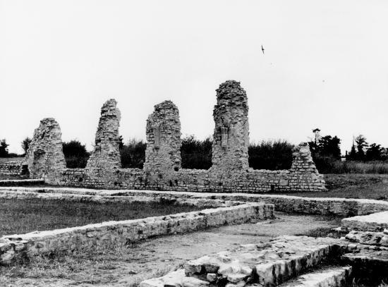 La Flotte, les ruines de Notre-Dame-de-Ré.