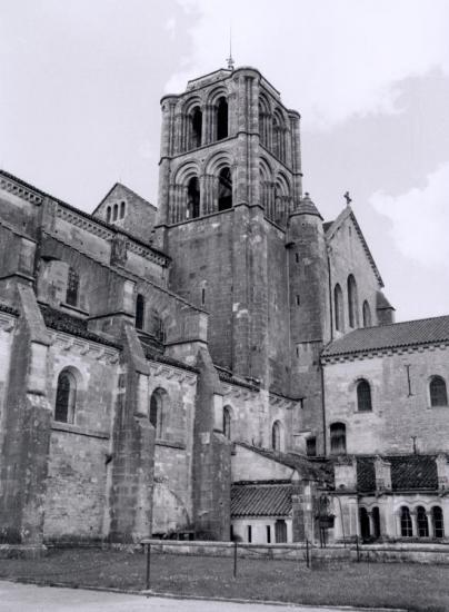 Vézelay, la basilique Sainte-Madeleine.