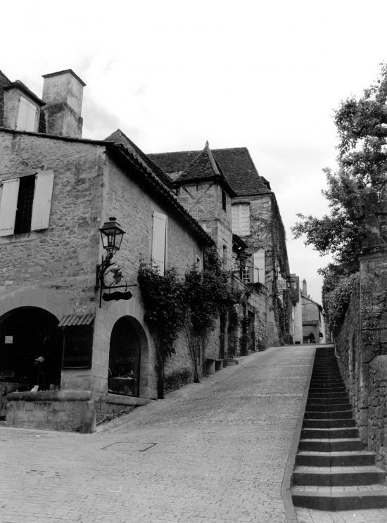 Sarlat, une ruelle.