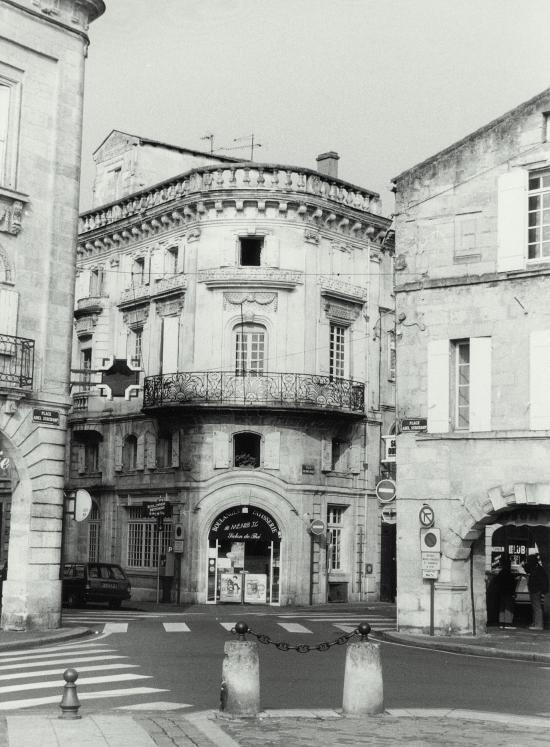 Libourne, la maison d'Etienne-Louis-Grignan.