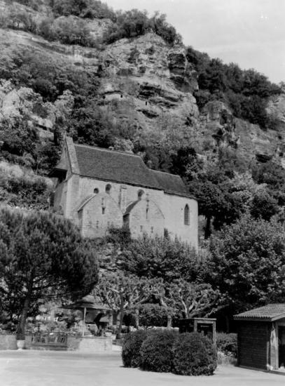 La Roque-Gageac, la chapelle.