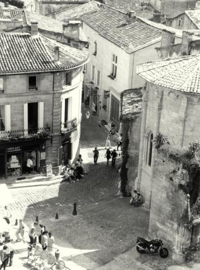 Saint-Emilion, une vue générale de la commune.