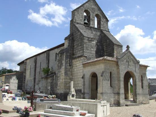 Daignac, l'église Saint-Christophe