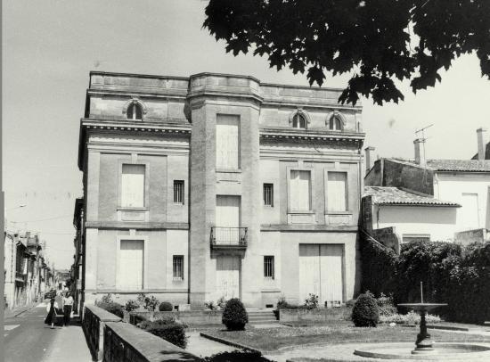 Libourne, le musée Robin.