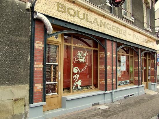 Migennes, l'ancienne boulangerie Gangnard,