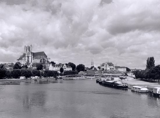 Auxerre, vue générale.