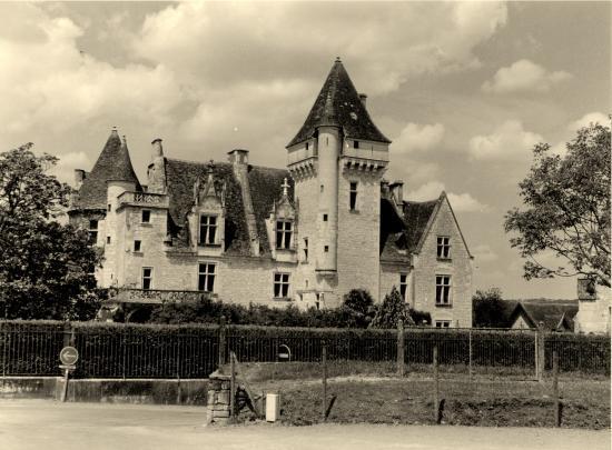 Les Milandes, le château de Joséphine.