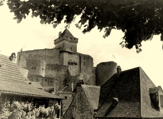 Castelnaud-la-Chapelle, le château fort.