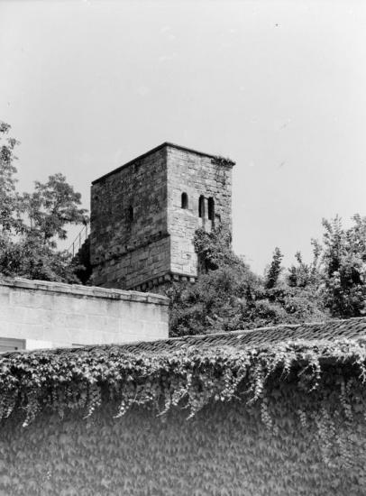 Saint-Emilion, la Tour du guetteur.