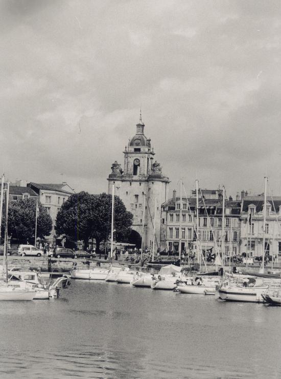 La Rochelle, la Tour de la Grosse-Horloge.