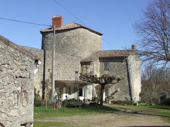 Lugaignac, le château de Lugaignac