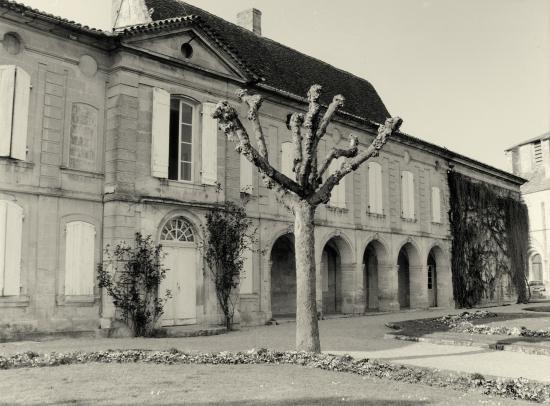 Saint-Emilion, le Logis Malet de Roquefort.