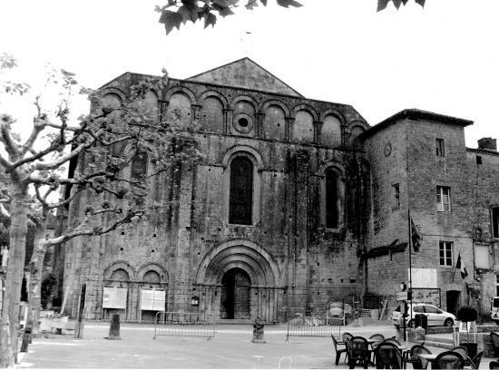 Cadouin, l'abbaye.