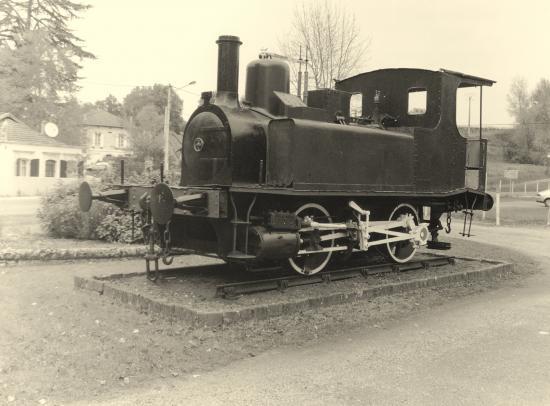 Guitres, une locomotive