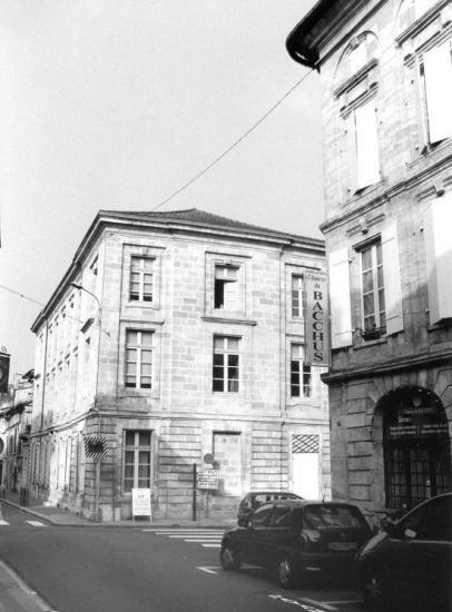 Libourne, la maison de Barthélemy Fontemoing