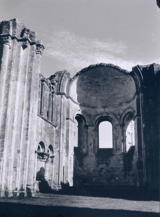 La Sauve, l'Abbaye de la Sauve Majeure.