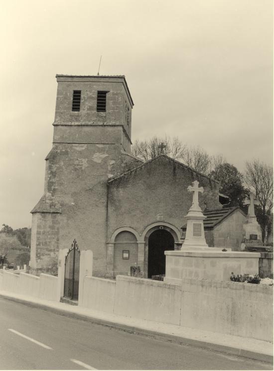 Lagorce, l'église Saint-Pierre.