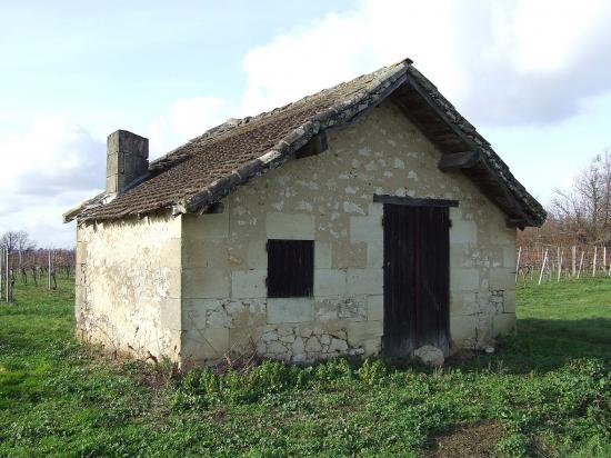 Branne, une petite maison de vigne au lieu-dit Montremblant
