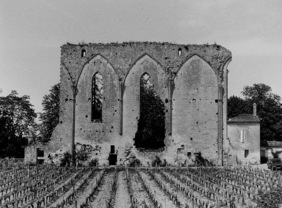 Saint-Emilion, les Grandes Murailles.