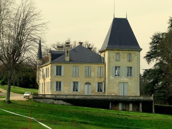 Naujan et Postiac, le château de Naujan,