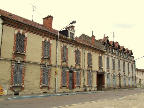 Migennes, des immeubles abandonnés,