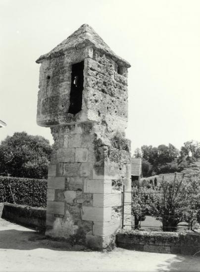 Saint-Emilion, une échauguette.