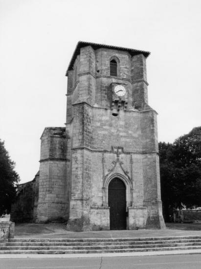 Nérigean, l'église Saint-Martin.