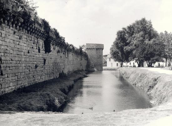 Guérande, les remparts.