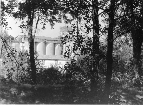 Sablons, l'ancienne minoterie de Lambardemont