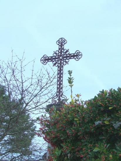 Moulon, une croix de mission.