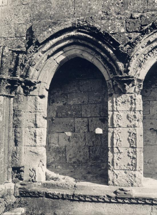 La Sauve, l'Abbaye.