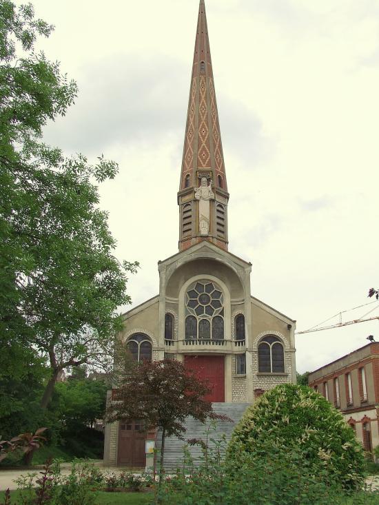 Migennes, l'église du Christ-Roi,