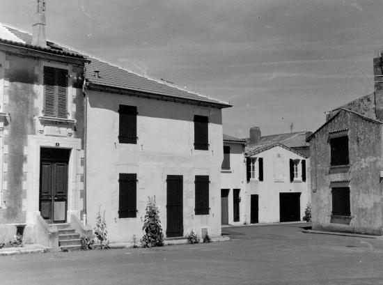 Sainte-Marie-de-Ré, des maisons typiques.