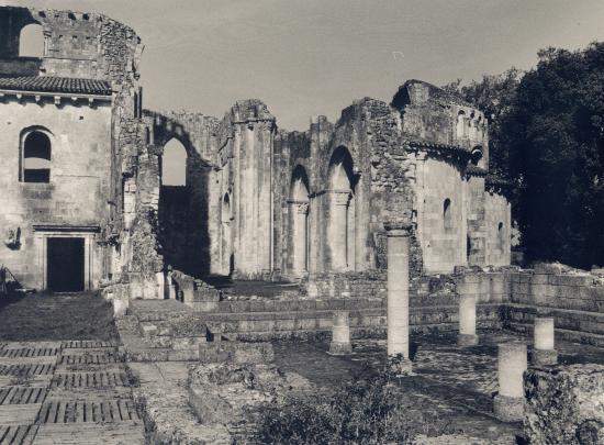 La Sauve, l'Abbaye de la Sauve-Majeure.
