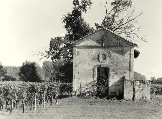 Arveyres, la chapelle Bastouney.