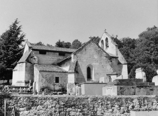 Cadarsac, l'église Sainte-Eulalie.