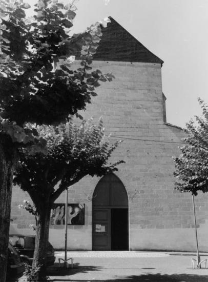 Libourne, l'église Saint-Ferdinand.