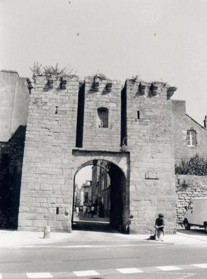 Guérande, la porte de Saillé.