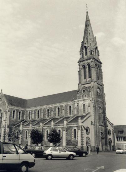 Saint-Joachim en Brière, l'église.