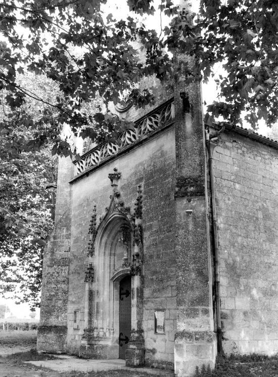 Libourne, la chapelle romane de Condat.