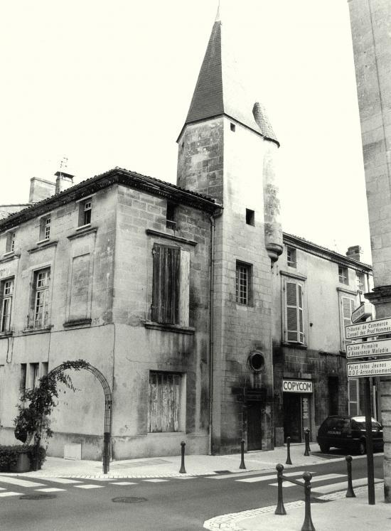Libourne, la maison de l'avocat Belliquet