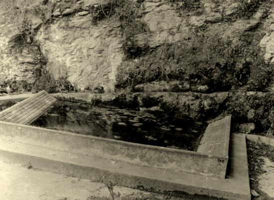Castelnaud-la-Chapelle, un lavoir.