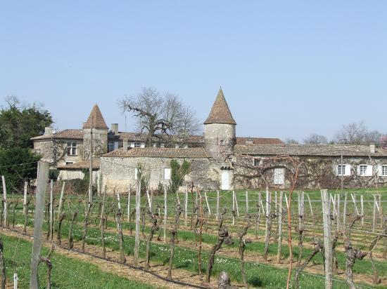 Grézillac, le château Reynier.