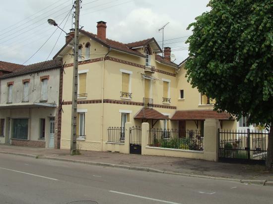 Migennes,  la maison de Mme Guérin
