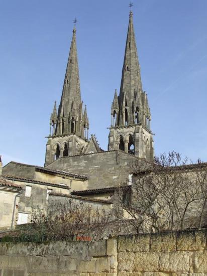Branne, l'église Saint-Etienne