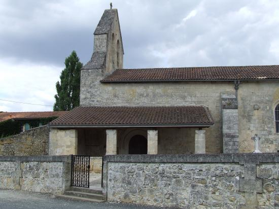 Espiet, l'église Notre-Dame.