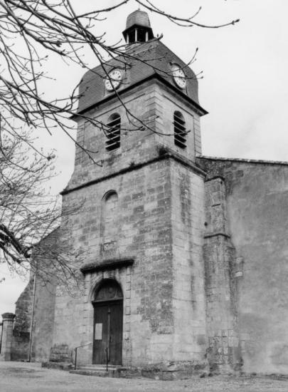 Vayres, l'église Saint-Jean-Baptiste.