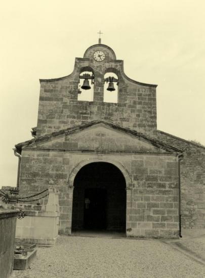 Savignac-de-l'Isle, l'église Saint-Félix,